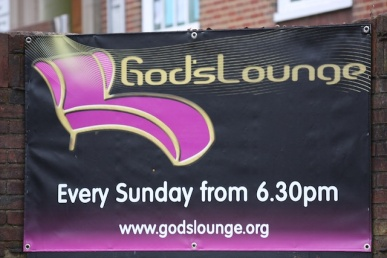 God's lounge - Faith is not always active!